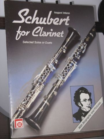 Schubert F - Schubert for Clarinet - Selected Solos or Duets arr Intano I